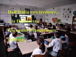 Dall'Italia con tremore!