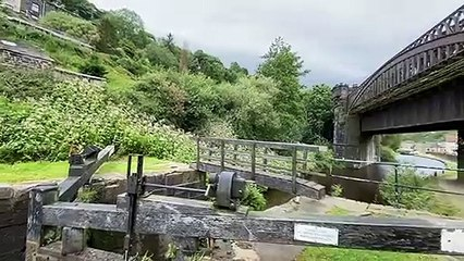 Before and after video shows historic Calder Valley viaduct restored