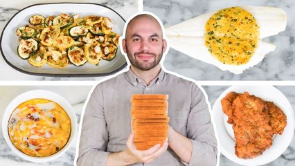 Pro Chef Turns White Bread into 6 Dishes For Under $12