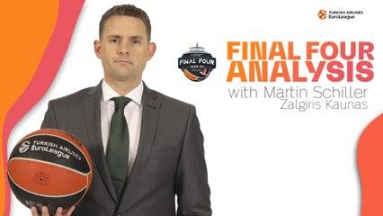 Zalgiris coach Martin Schiller analyzes the Final Four teams!