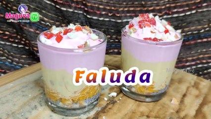 Faluda Recipe with Rabdi | How to Make Falooda Recipe at home | Easy Faluda recipe in Telugu | Maguva tv