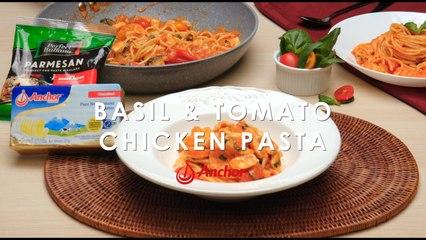 Basil Tomato & Chicken Pasta