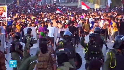 """""""واشنطن غاضبة من مواجهة المتظاهرين العراقيين السلميين """"بالعنف الوحشي"""