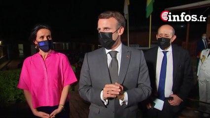 Déclaration du Président Emmanuel Macron depuis un centre de vaccination de Kigali