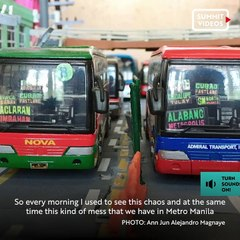 This realistic diorama of EDSA traffic will make you look twice
