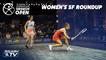 Squash: El Gouna International 2021 - Women's SF Roundup