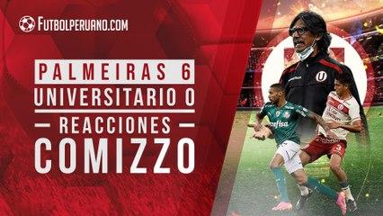 Palmeiras 6 Universitario 0: Reacciones Ángel Comizzo   Conmebol Libertadores