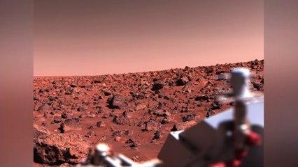 Water Ice at Utopia Planitia on Mars by NASA's Viking 2 Lander