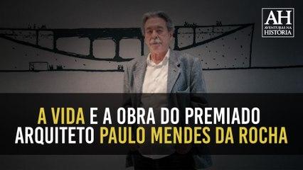 AVENTURAS EM 1 MINUTO: CONHEÇA A ESPLÊNDIDA CARREIRA DE PAULO MENDES DA ROCHA