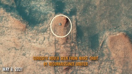 Curiosity Mars Rover photographed this at Gale Crater on SOL 3112