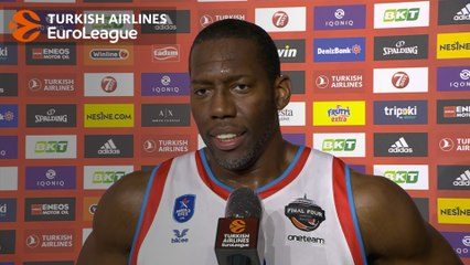 Post-game Interview: Bryant Dunston, Anadolu Efes Istanbul