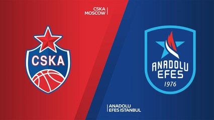EuroLeague 2020-21 Highlights Final Four Semifinal video: CSKA 86-89 Efes