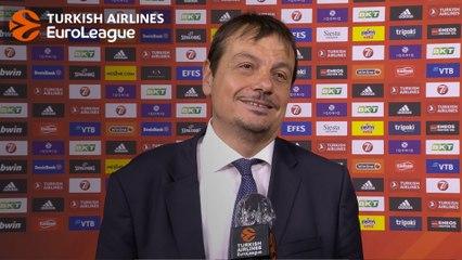 Post-game Interview: Coach Ataman, Anadolu Efes Istanbul