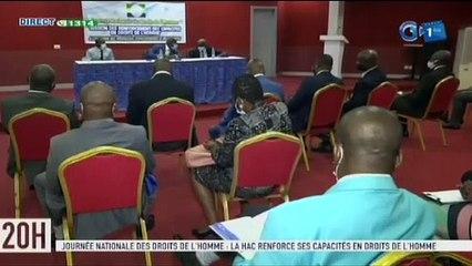 RTG/ Séminaire du renforcement des capacités en droit de l'homme