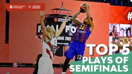 Semifinals Top 5 Plays
