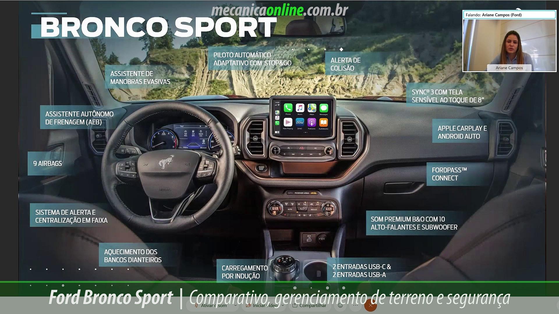 Lançamento Ford Bronco Sport – Resumo
