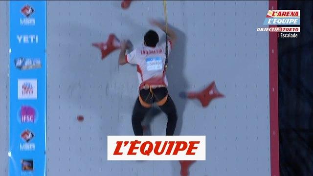 Veddriq fait tomber le record du monde de vitesse - Escalade - CM (H)