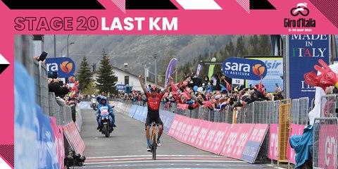 Giro d'Italia 2021 | Stage 20 | Last Km
