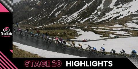 Giro d'Italia 2021 | Stage 20 | Highlights