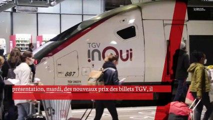 Le PDG de la SNCF annonce de nouveaux tarifs, plus bas et plus lisibles, pour les TGV