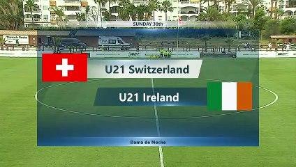 RELIVE: U21 Switzerland v U21 Ireland 30.05.2021