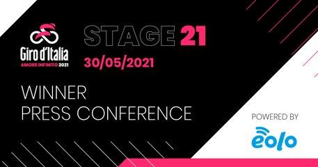Giro d'Italia 2021 | Stage 21 Press Conference