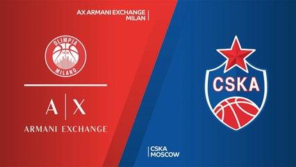 EuroLeague 2020-21 Highlights Final Four 3rd place video: Milan 83-73 CSKA