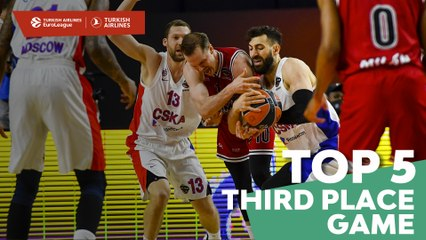 Turkish Airlines EuroLeague Third Place Game Top 5 Plays