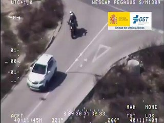 VÍDEO: Pegasus caza a varios motoristas circulando de forma imprudente y  cometiendo varias infracciones