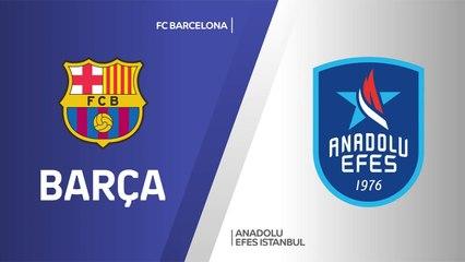 EuroLeague 2020-21 Highlights Final Four Final video: Barcelona 81-86 Efes