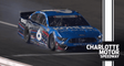 Ryan Newman pancakes the wall at Charlotte late in Stage 3