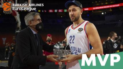 Turkish Airlines EuroLeague Final Four MVP: Vasilije Micic, Anadolu Efes Istanbul