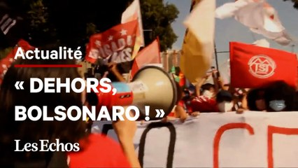 Le Brésil dans la rue contre Bolsonaro