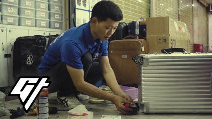 Unusual Jobs: No Suitcase He Can't Fix