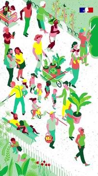 Interview de Agnès du Vachat, historienne de l'art des jardins