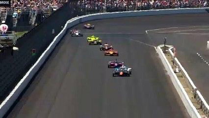 El momento exacto en el que Álex Palou se pone líder de la Indy 500 2021
