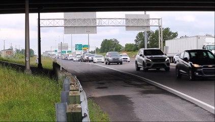 Congestion près de l'A930 - 31 mai (Gravité Média - Erick Rivest)