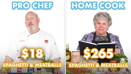 $265 vs $18 Spaghetti & Meatballs: Pro Chef & Home Cook Swap Ingredients