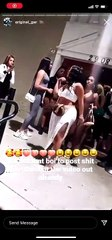 Akbar V went into the club with Alexis Sky, hosting together, but ended up fighting her and Lira Galore; Twitter is dragging her for being a bully