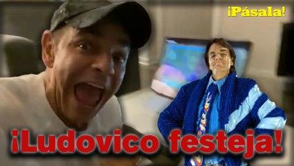 ¡Hasta Ludovico festejó!