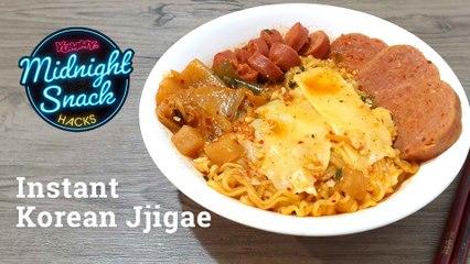How To Make Instant Korean Jjigae   Yummy PH