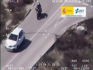 VÍDEO: Pegasus graba a varios motoristas  cometiendo estas infracciones
