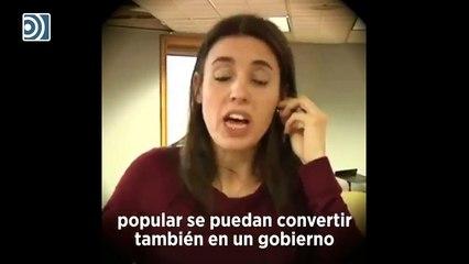 Irene Montero se indignaba cuando la luz subía un 4% y ahora calla cuando se dispara un 44%