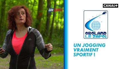 Le jogging vraiment sportif - Groland - CANAL+