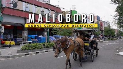 Uji Coba Kawasan Pedestrian Malioboro, Gimana Komentar Warga Jogja?