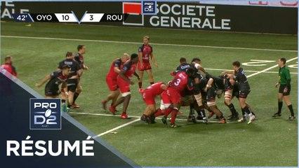 PRO D2 - Résumé Oyonnax Rugby-Rouen Normandie Rugby: 22-15 - J9 - Saison 2020/2021