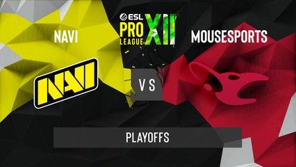 CSGO - Natus Vincere vs. mousesports [Nuke] Map 1 - ESL Pro League Season 12 - Playoffs - EU
