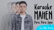 Mahen - Pura Pura Lupa (Karaoke Low Male Version) - YouTube