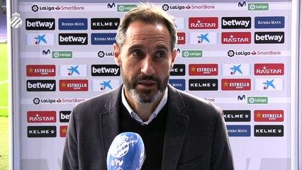 Vicente Moreno analiza la victoria del equipo ante el Lugo (7/11/20)