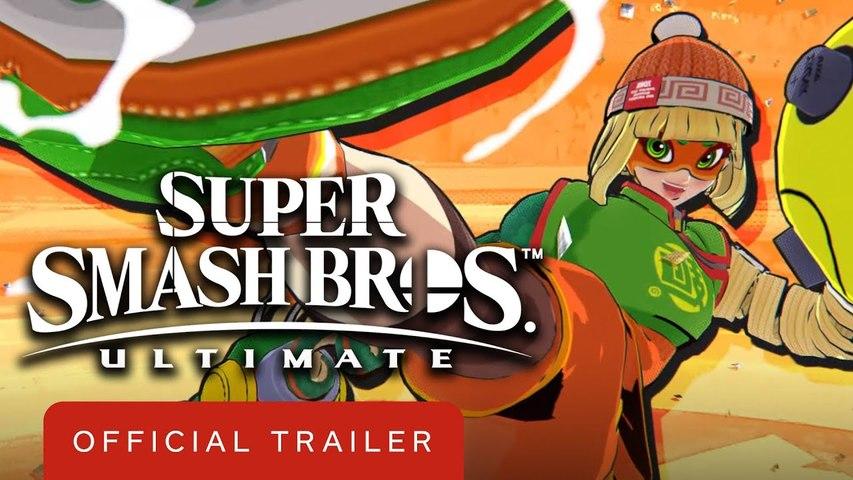 Super Smash Bros. Ultimate Min Min Official Trailer
